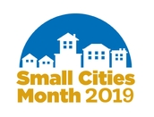 Small Cities Month Logo