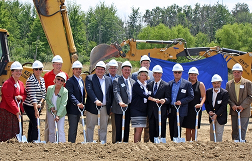 Carlisle Brake & Friction Ground Breaking