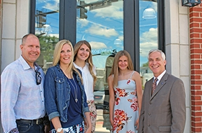 Mayor Hanwell welcomes Hertel Family